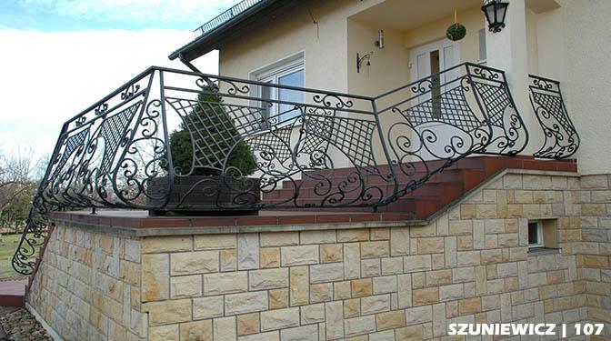 Geländer aus Polen